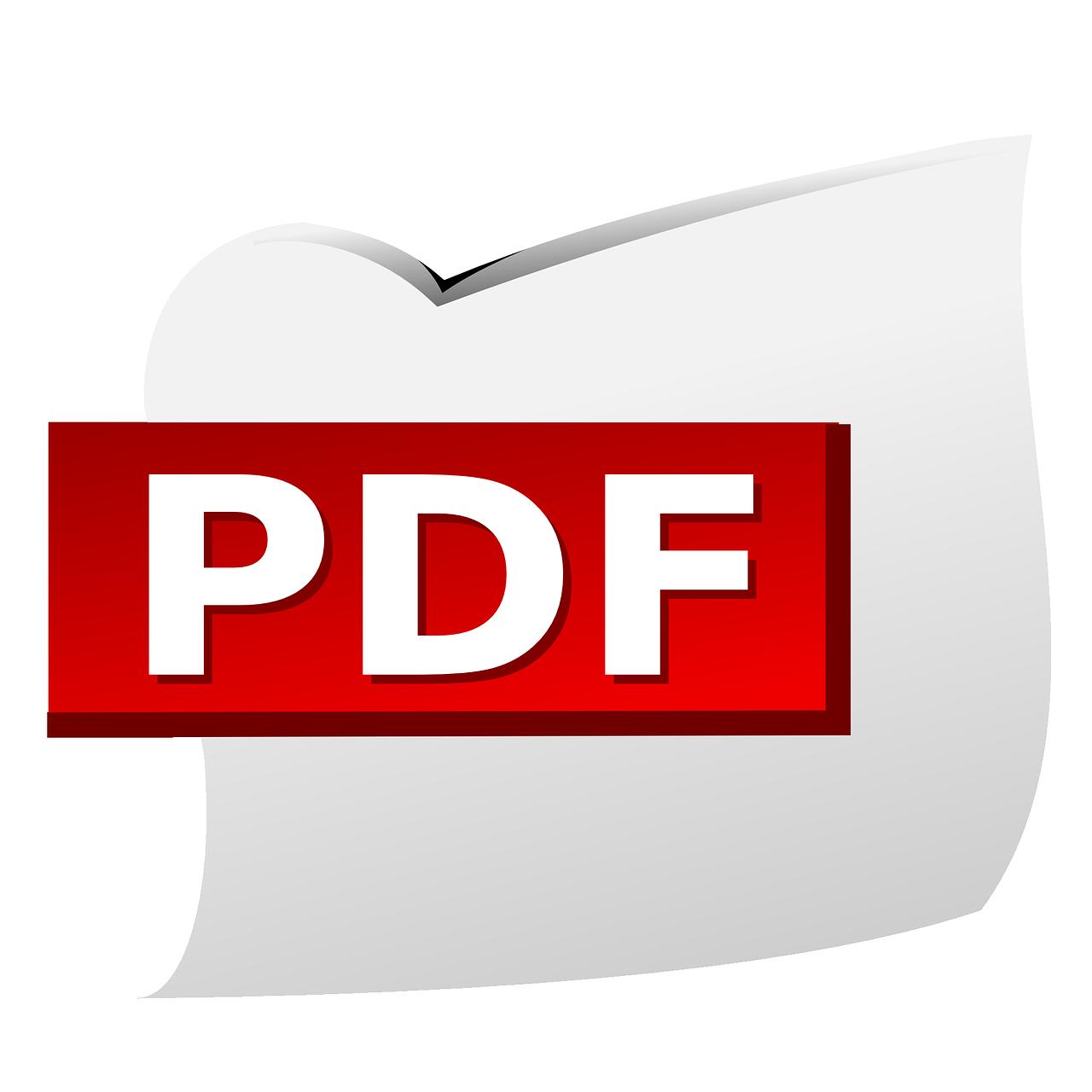 pdf, document, file type